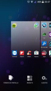 panel pantalla
