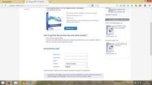 web para registrarse