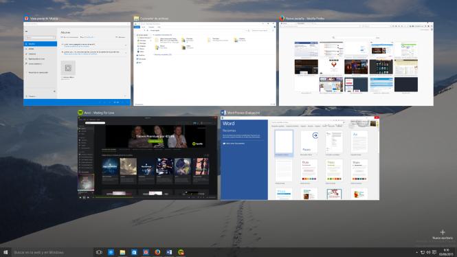 ventanas escritorio virtual